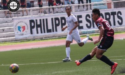 Philippine Sports News - Tiebreaker Times Late goals against Bulldogs propel Fighting Maroons to 8th straight postseason Football News NU UAAP UP  UP Men's Football UAAP Season 80 Men's Football UAAP Season 80 NU Men's Football Mari Aberasturi Kintaro Miyagi JB Borlongan Harel Dayan Chris Perocho Anto Gonzales