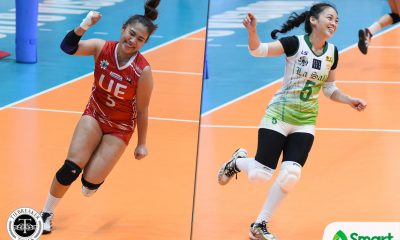 Philippine Sports News - Tiebreaker Times Dawn Macandili downplays rivalry with Kath Arado DLSU News UAAP Volleyball  UAAP Season 80 Women's Volleyball UAAP Season 80 DLSU Women's Volleyball Dawn Macandili