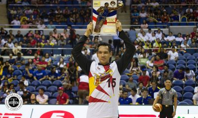 Philippine Sports News - Tiebreaker Times June Mar Fajardo holds record for most number of BPC awards Basketball News PBA  San Miguel Beermen PBA Season 43 June Mar Fajardo 2017-18 PBA Philippine Cup