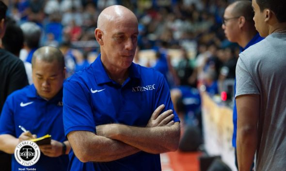 Tiebreaker Times Tab Baldwin rushed to hospital during Ateneo practice ADMU Basketball Gilas Pilipinas News  Tab Baldwin Gilas Pilipinas Men Epok Quimpo Ateneo Men's Basketball