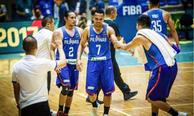 Philippine Sports News - Tiebreaker Times Terrence Romeo-Jayson Castro TNT tandem will be a glimpse of Gilas' third window campaign Basketball Gilas Pilipinas News PBA  TNT Katropa Terrence Romeo PBA Season 43 2019 FIBA World Cup Qualifiers Group B 2018 PBA Commissioners Cup