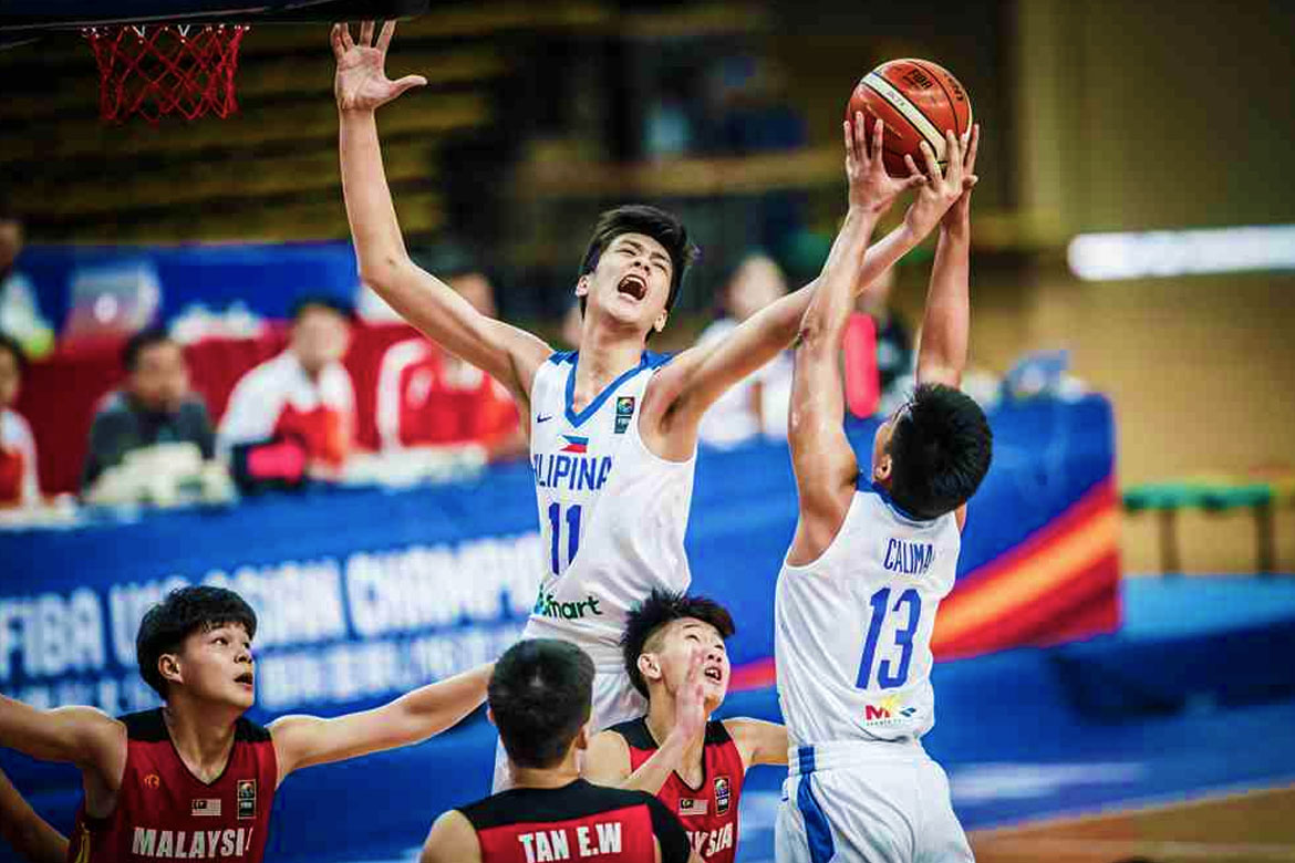 Batang Gilas subdues Malaysia at start of FIBA Asia U16 Championship