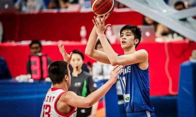 Tiebreaker Times Kai Sotto, Batang Gilas' gallant stand fall short against China, drop to bronze medal match Basketball Gilas Pilipinas News  Terrence Fortea Mike Oliver Kai Sotto China (Basketball) Batang Gilas 2017 FIBA U-16 Asian Championship