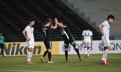 Philippine Sports News - Tiebreaker Times Bienvenido Marañon draws Ceres-Negros closer to ASEAN Zone Playoffs after completing Boeung Ket conquest AFC Cup Football News  Toni Doblas Takumi Uesato Risto Vidakovic Ceres-Negros FC Boeung Ket Angkor FC Bienvenido Marañon