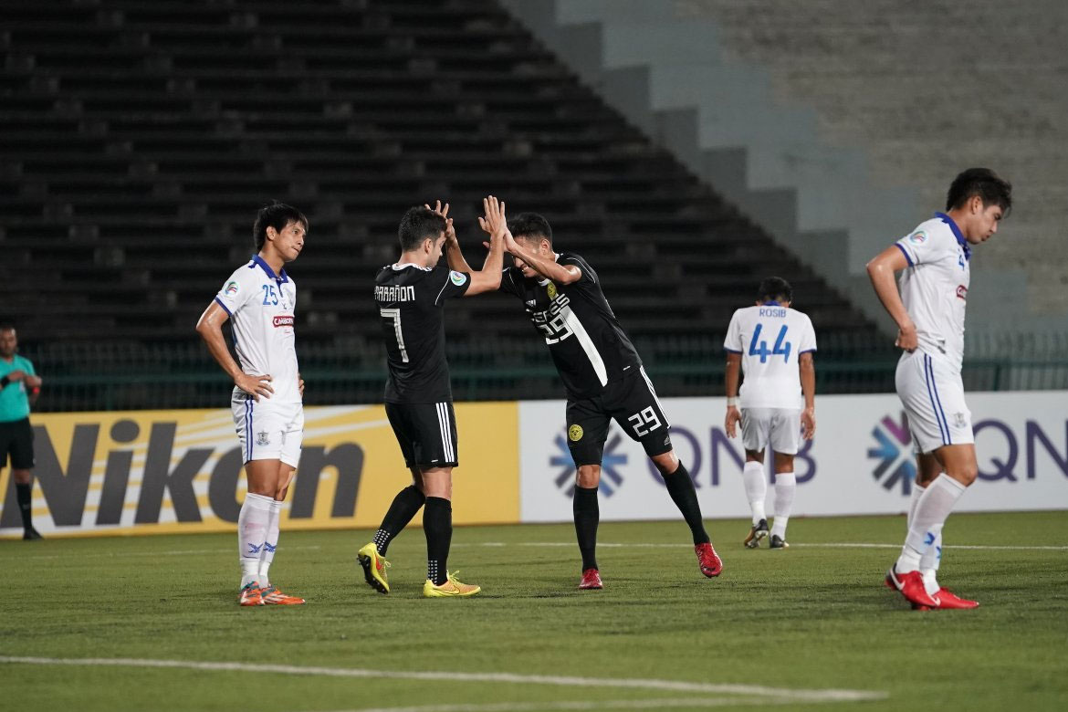 Tiebreaker Times Bienvenido Marañon draws Ceres-Negros closer to ASEAN Zone Playoffs after completing Boeung Ket conquest AFC Cup Football News  Toni Doblas Takumi Uesato Risto Vidakovic Ceres-Negros FC Boeung Ket Angkor FC Bienvenido Marañon