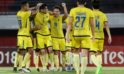 Philippine Sports News - Tiebreaker Times Rufo Sanchez-led Global-Cebu concludes AFC Cup campaign on a high AFC Cup Football News  Rufo Sanchez Paul Mulders Patrick Deyto Marjo Allado Global-Cebu FC Bali United 2018 AFC Cup Group G 2018 AFC Cup
