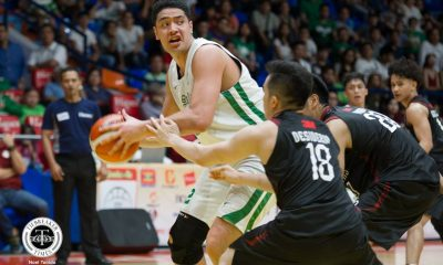 Tiebreaker Times New-look La Salle overwhelms UP in Preseason Cup opener Basketball DLSU News UP  UP Men's Basketball Taane Samuel Louie Gonzalez Justin Baltazar Juan Gomez De Liano DLSU Men's Basketball Diego Dario Bright Akhuetie Bo Perasol Andrei Caracut 2018 Filoil Premier Cup