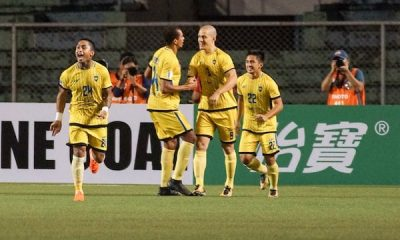 Philippine Sports News - Tiebreaker Times Eliminated Global-Cebu stays unbeaten at home after salvaging point against FLC Thanh Hoa AFC Cup Football News  Wesley dos Santos Rufo Sanchez Patrick Deyto Marjo Allado Global-Cebu FC FLC Thanh Hoa FC Darryl Roberts 2018 AFC Cup Group G 2018 AFC Cup