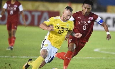 Tiebreaker Times Smash and grab effort sees Home United overtake Ceres-Negros in Group F AFC Cup Football News  Toni Dobias Risto Vidakovic Home United Ceres-Negros FC 2018 AFC Cup Group F 2018 AFC Cup
