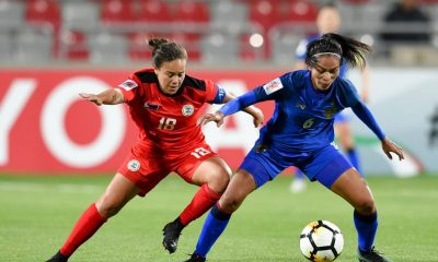 Tiebreaker Times Thailand seals World Cup ticket at Philippines' expense Football News Philippine Malditas  Thailand (Football) Rabah Banlarbi Kearra Bastes-Jones Jesse Shugg 2018 AFC Women's Asian Cup
