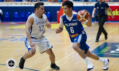 Philippine Sports News - Tiebreaker Times Ricci Rivero can't wait to face Green Archers: 'Who doesn't wanna play against La Salle?' Basketball Gilas Pilipinas News  Ricci Rivero Gilas Cadets 2018 Filoil Premier Cup