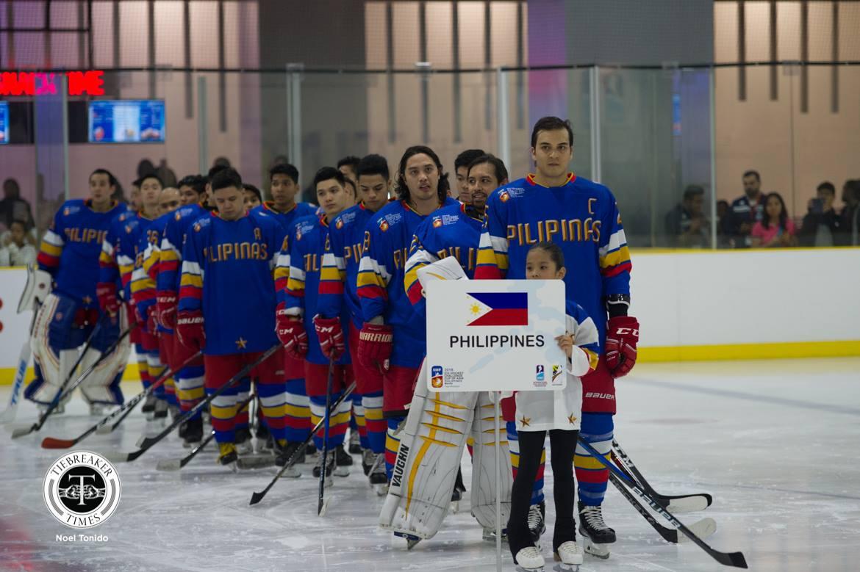 Tiebreaker Times Philippines survives Mongolia, assured of podium finish Ice Hockey News  Steven Fuglister Paul Sanchez Mongolia (Hockey) LR Lancero 2018 IIHF Challenge Cup of Asia