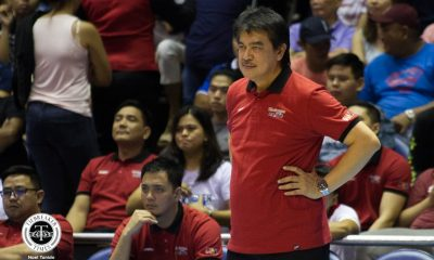 Tiebreaker Times REPORTS: Blackwater, long-time coach Leo Isaac part ways Basketball News PBA  PBA Season 43 Leo Isaac Blackwater Elite 2018 PBA Commissioners Cup