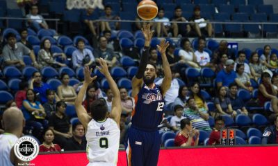 Philippine Sports News - Tiebreaker Times KG Cañaleta downplays 28-point outing: 'Useless naman yung game ko kung hindi equal yung contribution' Basketball News PBA  PBA Season 43 Meralco Bolts KG Canaleta 2018 PBA Commissioners Cup