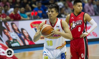 Philippine Sports News - Tiebreaker Times James Yap dealing with issues with utmost professionalism: 'Sanay na' Basketball News PBA  Rain or Shine Elasto Painters PBA Season 43 James Yap 2018 PBA Commissioners Cup
