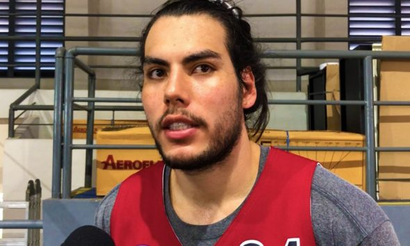 Philippine Sports News - Tiebreaker Times Christian Standhardinger tempers expectations for upcoming San Miguel campaign Basketball News PBA  San Miguel Beermen PBA Season 43 Christian Standhardinger 2018 PBA Commisioners Cup