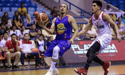 Philippine Sports News - Tiebreaker Times Terrence Romeo bounces back from cold debut, helps TNT douse Phoenix Basketball News PBA  Troy Rosario TNT Katropa Terrence Romeo Phoenix Fuel Masters PBA Season 43 Nash Racela Matthew Wright Louie Alas Jericho Cruz Jeremy Tyler Jayson Castro Jason Perkins James White 2018 PBA Commissioners Cup