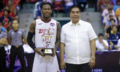 Tiebreaker Times CJ Perez named 2018 D-League Aspirants' Cup MVP Basketball LPU News PBA D-League  CJ Perez 2018 PBA D-League Season 2018 PBA D-League Aspirants Cup