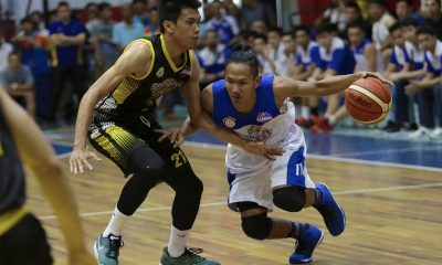 Tiebreaker Times Jeff Viernes makes triumphant return, leads Che'Lu-San Sebastian to semis Basketball News PBA D-League SSC-R  Stevenson Tiu RK Ilagan Joshua Fontanilla Jinino Manansala Jeff Viernes Gamboa-St. Clare Coffee Lovers Chris Bitoon Che'lu-San Sebastian Revellers 2018 PBA D-League Season 2018 PBA D-League Aspirants Cup