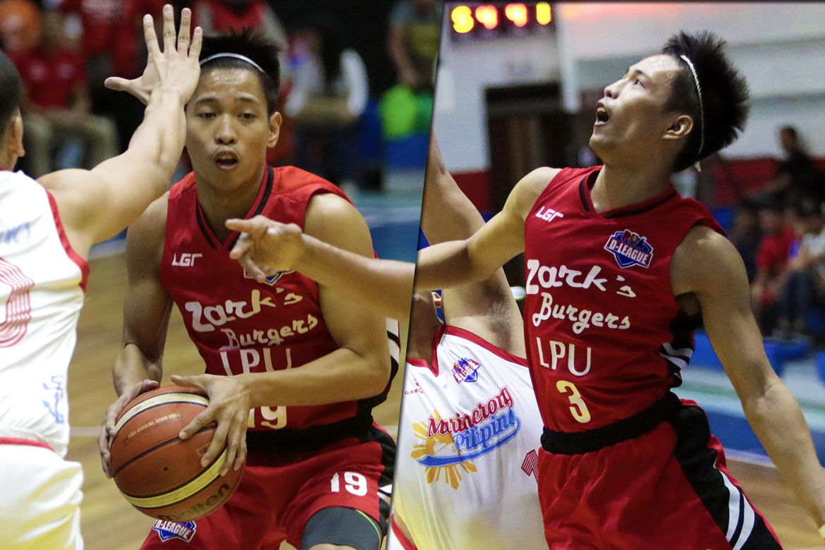 Tiebreaker Times Marcelino twins deliver for Zark's-Lyceum once again Basketball LPU News PBA D-League  Zark's-Lyceum Jawbreakers Jayvee Marcelino Jaycee Marcelino 2018 PBA D-League Season 2018 PBA D-League Aspirants Cup