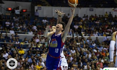Philippine Sports News - Tiebreaker Times Ian Sangalang vows Hotshots won't go down easily Basketball News PBA  PBA Season 43 Magnolia Hotshots Ian Sangalang Chito Victolero 2017-18 PBA Philippine Cup