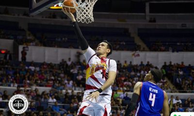 Philippine Sports News - Tiebreaker Times June Mar Fajardo remains wary of Hotshots, even with 3-1 series lead Basketball News PBA  San Miguel Beermen PBA Season 43 June Mar Fajardo 2017-18 PBA Philippine Cup