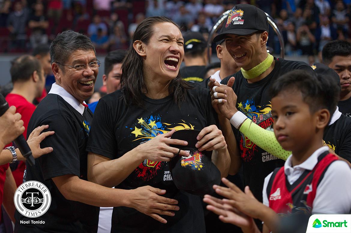 Tiebreaker Times It's no longer about championships for Alex Cabagnot: 'We want to be the paradigm of Philippine basketball' Basketball News PBA  San Miguel Beermen PBA Season 43 Alex Cabagnot 2017-18 PBA Philippine Cup