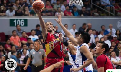 Philippine Sports News - Tiebreaker Times Chris Ross epitomized heart in San Miguel's conquest Basketball News PBA  San Miguel Beermen PBA Season 43 Leo Austria Chris Ross 2017-18 PBA Philippine Cup
