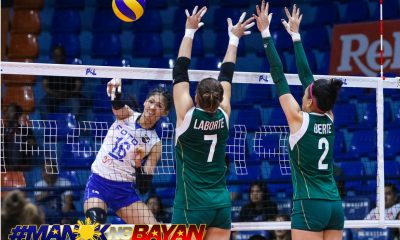 Philippine Sports News - Tiebreaker Times Foton sweeps Sta. Lucia to enter semis News PSL Volleyball  Sta. Lucia Lady Realtors Rommel Abella Marisa Field Katarina Vukomanovic Gyzelle Sy George Pascua Foton Tornadoes Dindin Santiago-Manabat Chanon Thompson Bohdana Anisova 2018 PSL Season 2018 PSL Grand Prix