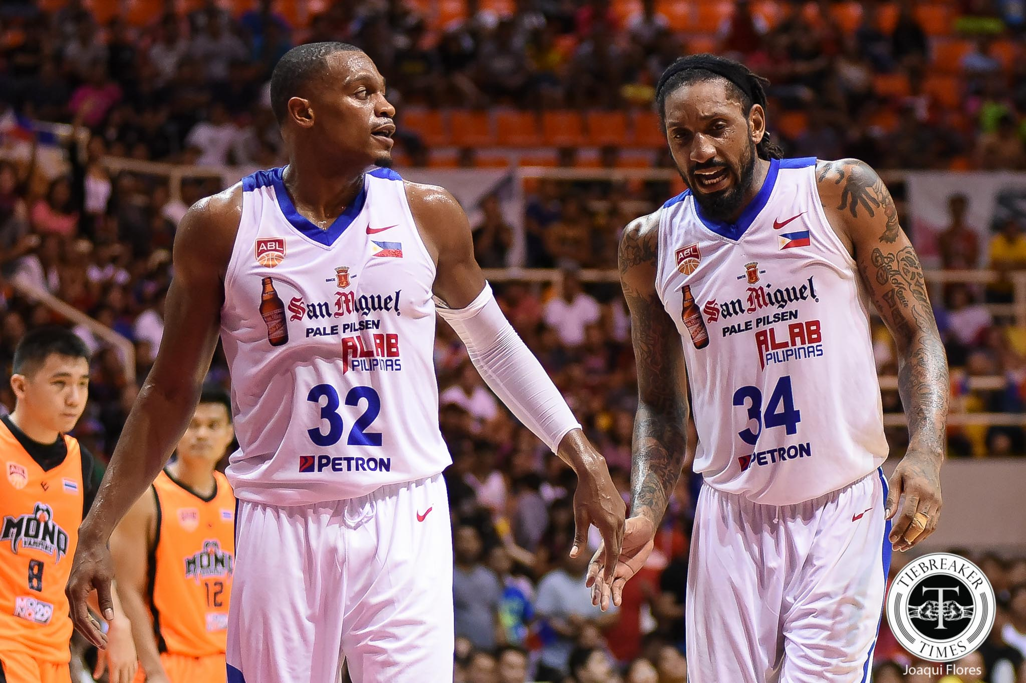 Tiebreaker Times Justin Brownlee ready to play for Alab, but team already capped out ABL Alab Pilipinas Basketball News  Justin Brownlee 2018-19 ABL Season