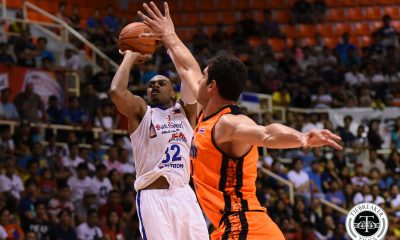 Tiebreaker Times Birthday boy Justin Brownlee erupts for 46 as Alab takes 1-0 Finals lead over Mono ABL Alab Pilipinas Basketball News  Samuel Deguara Renaldo Balkman Paul Zamar Mono Vampire Mike Singletary Lawrence Domingo Justin Brownlee Jimmy Alapag Jason Brickman Bobby Ray Parks Jr. 2017-18 ABL Season