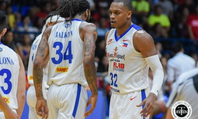Philippine Sports News - Tiebreaker Times Justin Brownlee looks forward to potential match-up against Renaldo Balkman in PBA ABL Alab Pilipinas Basketball News PBA  Renaldo Balkman PBA Season 43 Justin Brownlee 2018 PBA Commissioners Cup 2017-18 ABL Season