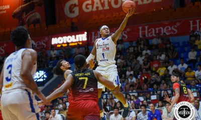 Tiebreaker Times Ray Parks, Lawrence Domingo relish Alab's first-ever playoff win ABL Alab Pilipinas Basketball News  Lawrence Domingo Bobby Ray Parks Jr. 2017-18 ABL Season