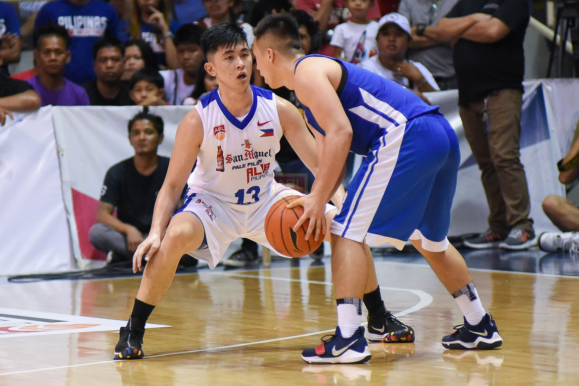 Tiebreaker Times Paolo Javelona credits coach Jimmy Alapag for string of solid outings ABL Alab Pilipinas Basketball News  Pao Javelona 2017-18 ABL Season