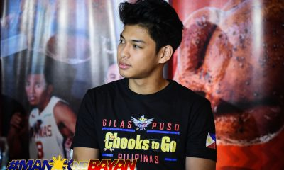Philippine Sports News - Tiebreaker Times Ricci Rivero still uncertain about collegiate career Basketball Gilas Pilipinas News  Ricci Rivero Gilas Cadets