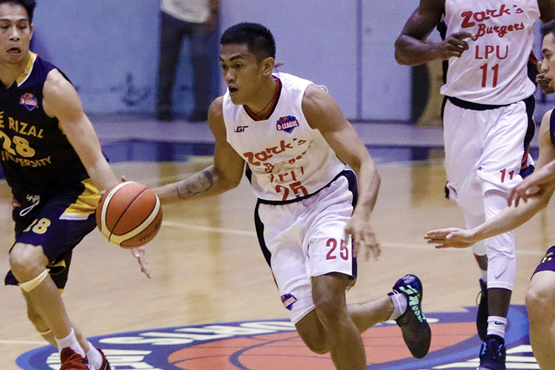 Philippine Sports News - Tiebreaker Times With CJ Perez out, MJ Ayaay shows way Basketball LPU News PBA D-League  Zark's-Lyceum Jawbreakers MJ Ayaay 2018 PBA D-League Season 2018 PBA D-League Aspirants Cup