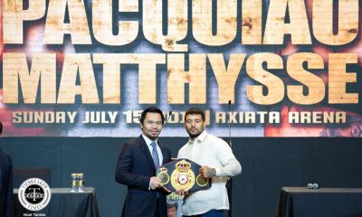 Tiebreaker Times Manny Pacquiao raring to prove that his time is not yet over Boxing News  MP Productions Manny Pacquiao Lucas Matthysse Golden Boy Promotions Fight of Champions