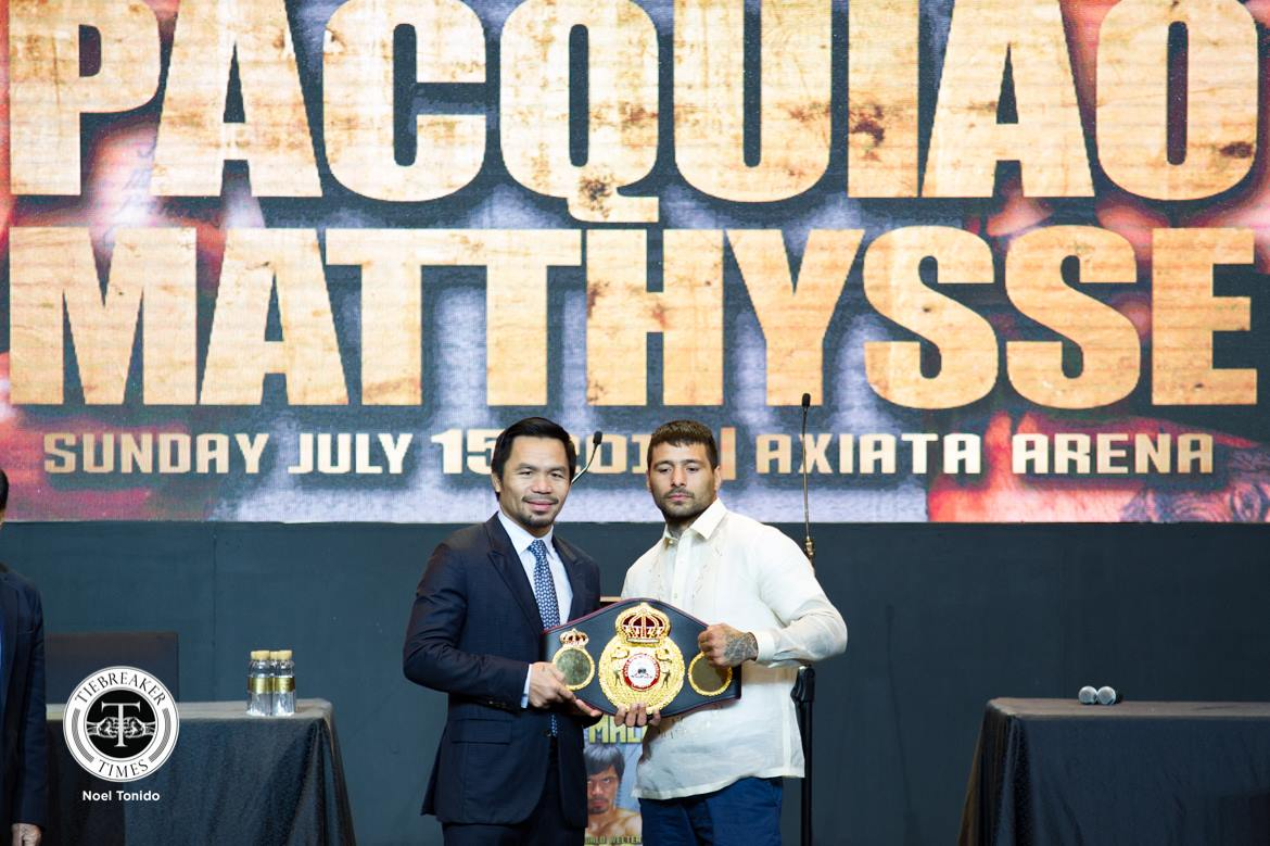 Fight of Champions – Manny Pacquiao x Lucas Matthysse