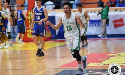Tiebreaker Times Green Archers enter final stage of UAAP prep in South Korea Basketball DLSU News  Taane Samuel Santi Santillan Miggy Corteza Mark Dyke Louie Gonzalez Kib Montalbo Justine Baltazar Jollo Go Joaqui Manuel Gabe Capacio Encho Serrano DLSU Men's Basketball Brandon Bates Andrei Caracut Aljun Melecio 2018 Asia-Pacific Basketball Challenge