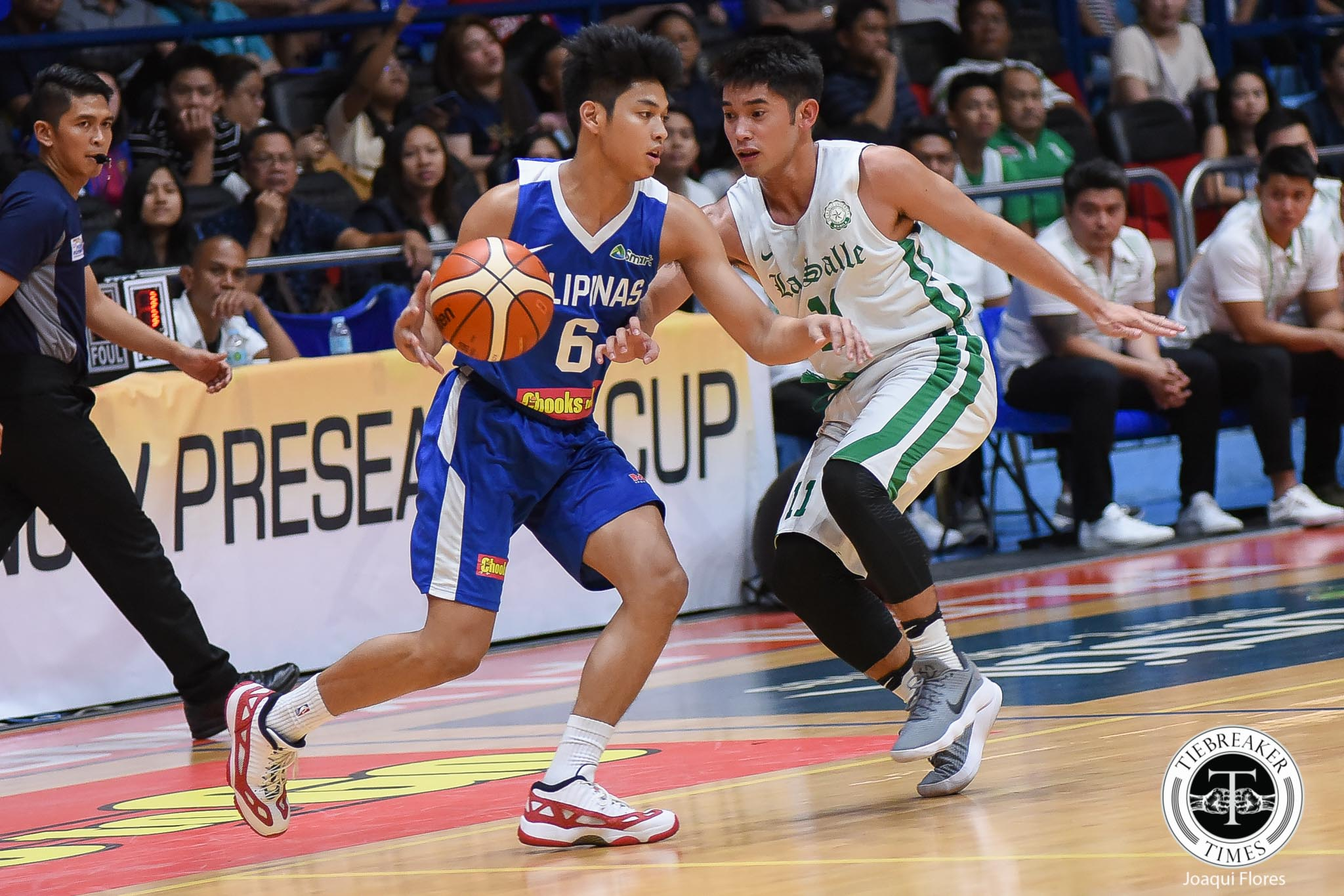 Tiebreaker Times Just a regular game for Ricci Rivero as he takes down La Salle Basketball News UP  UP Men's Basketball Ricci Rivero 2019 Filoil Flying V Preseason Cup