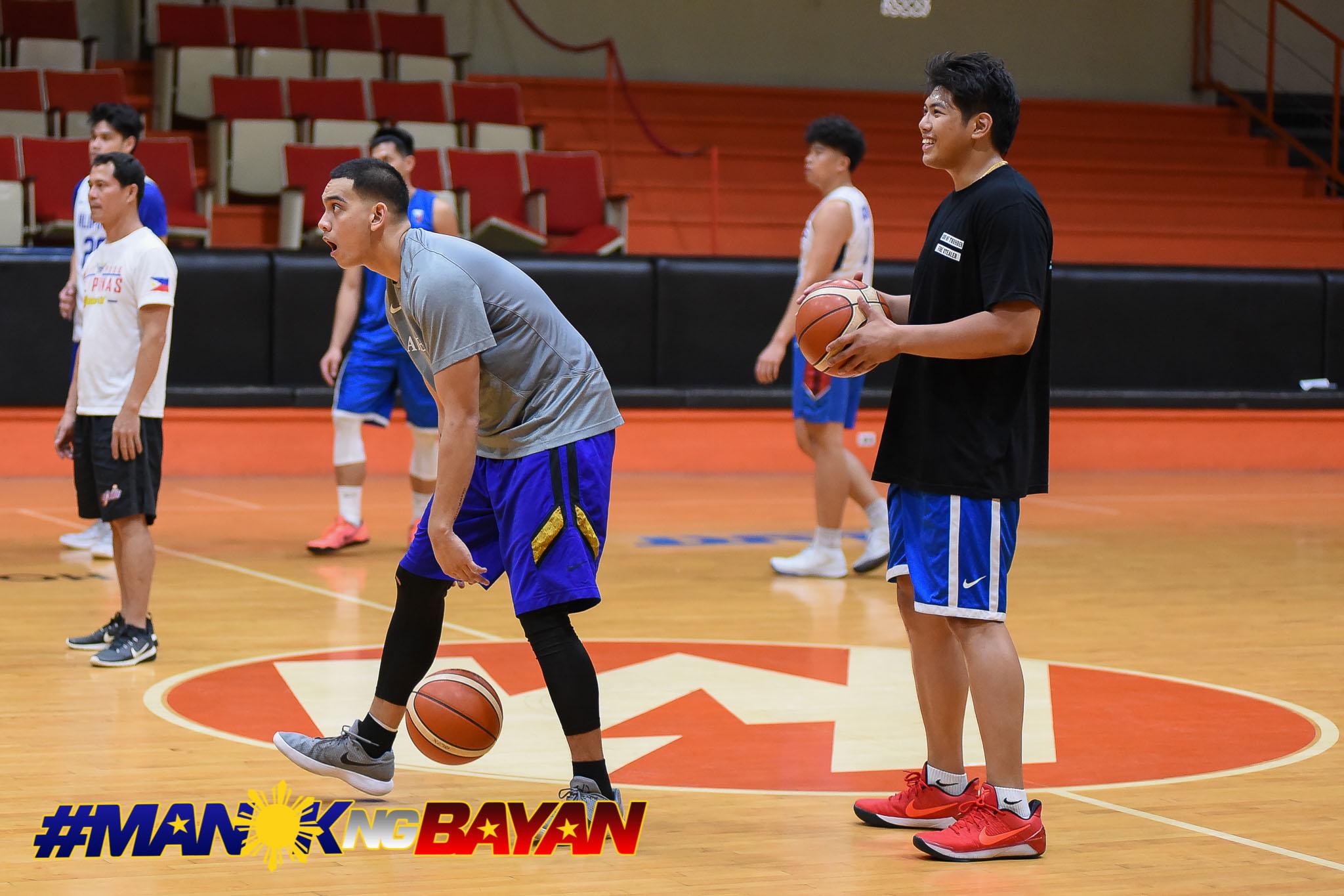 Gilas cadets practice Prince Rivero, Vince Tolentino-5255