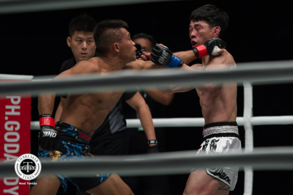 ONE-Heroes-of-Honor-Adrian-Matheis-def-Lan-Ming-Qiang Clinical Gina Iniong outpoints Jenny Huang for bounce back win Mixed Martial Arts News ONE Championship  - philippine sports news