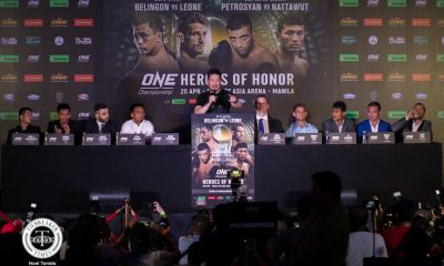 Philippine Sports News - Tiebreaker Times ONE Championship to usher in new era on Heroes of Honor Mixed Martial Arts News ONE Championship  ONE: Heroes of Honor Kevin Belingon Chatri Sityodtong Andrew Leone