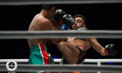 Tiebreaker Times Giorgio Petrosyan, Nong-o Gaiyanghadao shine in Super Series debut Kickboxing Muay Thai News ONE Championship  Regian Eersel ONE: Heroes of Honor Nong-O Gaiyanghadao Jo Nattawut Giorgio Petrosyan Fabio Pinca Elliot Compton Cosmo Alexandre Brad Riddell