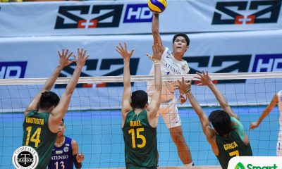Philippine Sports News - Tiebreaker Times Blue Eagles topple Tamaraws behind another Marck Espejo blitz ADMU FEU News UAAP Volleyball  UAAP Season 80 Men's Volleyball UAAP Season 80 Rey Diaz Oliver Almadro Marck Espejo Manuel Sumanguid Jude Garcia JP Bugaoan Ish Polvorosa FEU Men's Volleyball Ateneo Men's Volleyball