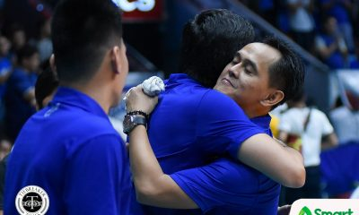 Philippine Sports News - Tiebreaker Times Oliver Almadro grasping rebuild with Lady Eagles ADMU News UAAP Volleyball  UAAP Season 81 Women's Volleyball UAAP Season 81 Oliver Almadro Ateneo Women's Volleyball