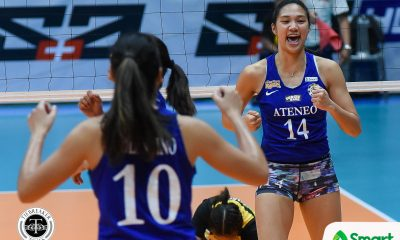 Philippine Sports News - Tiebreaker Times Ateneo official says it was players decision not to attend National Team tryout ADMU News UAAP Volleyball  UAAP Season 80 Women's Volleyball UAAP Season 80 Sherwin Malonzo Maddie Madayag Kat Tolentino Bea De Leon Ateneo Women's Volleyball 2018 Asian Games-Volleyball