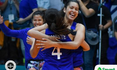 Tiebreaker Times Lady Eagles survive Golden Tigresses to clinch Final Four spot ADMU News UAAP UST Volleyball  UST Women's Volleyball UAAP Season 80 Women's Volleyball UAAP Season 80 Tin Francisco Tai Bundit Ponggay Gaston Milena Alessandrini Maddie Madayag Kungfu Reyes Kat Tolentino Jho Maraguinot Deanna Wong Cherry Rondina Ateneo Women's Volleyball