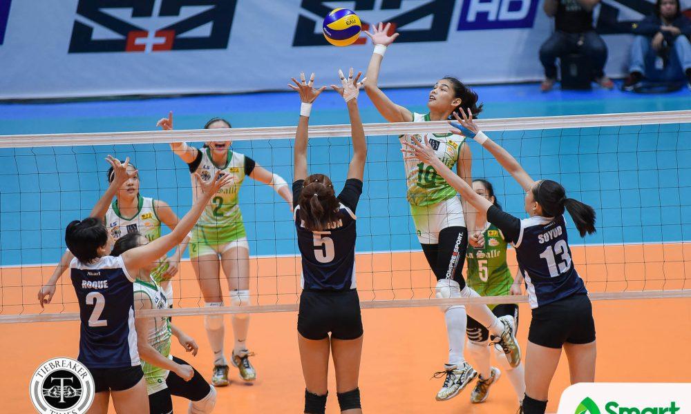 UAAP 80 Volleyball DLSU vs. ADU – Baron-4821