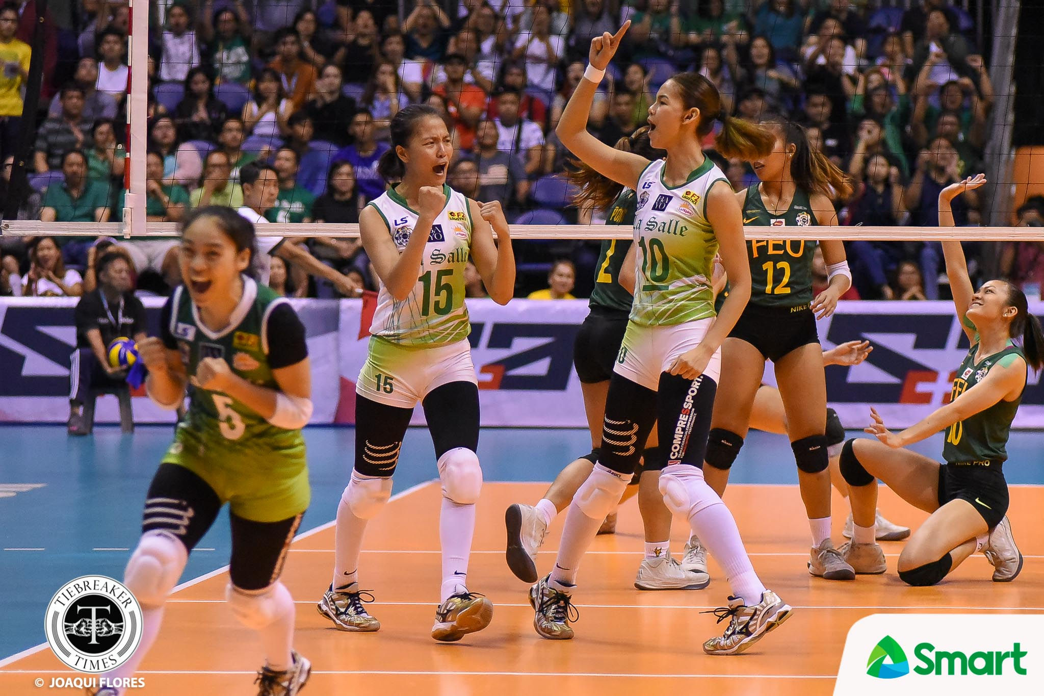 Lady Spikers shut down Lady Tamaraws, close in on 11th title